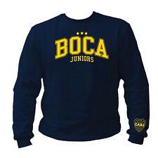 Boca Juniors La Doce Jugador Argentina Sweat Pullover Sweatshirt S-3XL navy