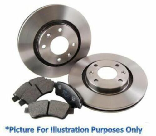 Pagid Rear Brake Discs and Pads Kit Fits Kia Carens /& Clarus 261mm Solid