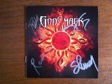 Godsmack cd 1000 HP signed booklet autographed 2014 new release
