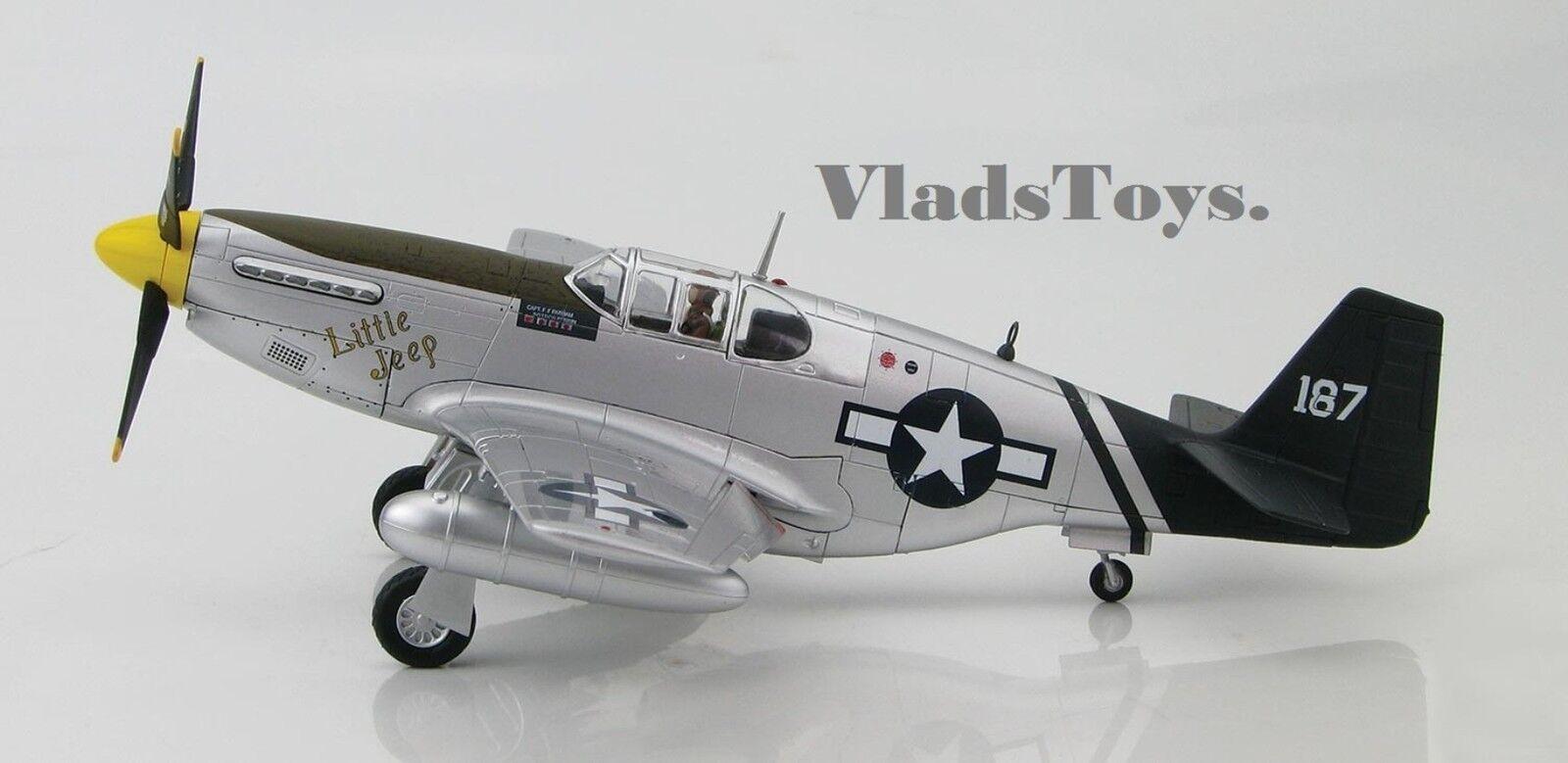 Hobby Master 1:48 P-51c Usaaf 23 Fg 75º Fs Flying Tigers poco Jeep ha 8505