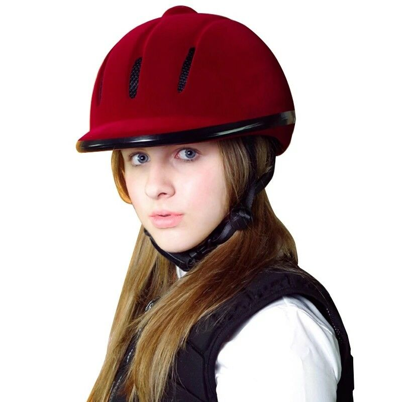 Pro Horse Riding Helmet Breathable Durable Safety Half Cover Equestrian  Headwear  preferential