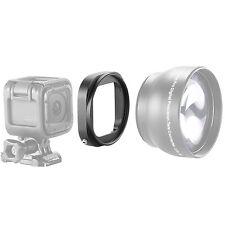 Neewer Aluminum Alloy 52mm Lens Filter Adapter Ring for GoPro HERO 4 Session