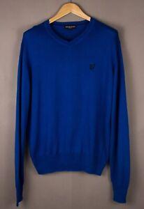 Lyle & Scott Herren Heritage Freizeit Pullover Sweatshirt Größe L ASZ678