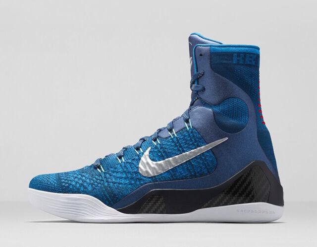 Size 10 - Nike Kobe 9 Elite Brave Blue