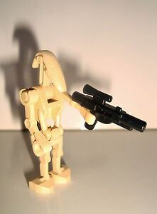 LEGO MINIFIG PERSONNAGE STAR WARS - BATTLE DROID (4,5x2,5cm)