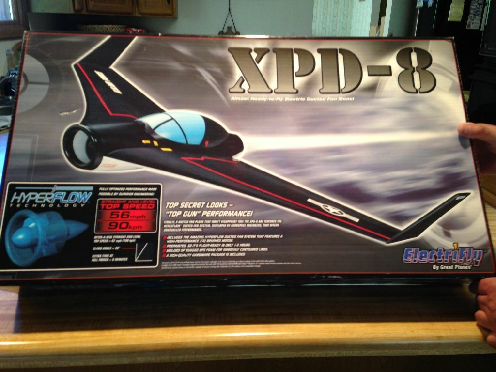 nuovo  R C Electrifly XPD-8 Jet ARF Kit With Motor & Fan  vendendo bene in tutto il mondo