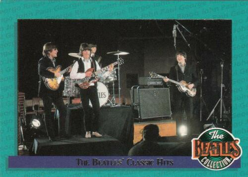The Beatles Collection The Beatles Classic Hits card 4//8 River Group 1993