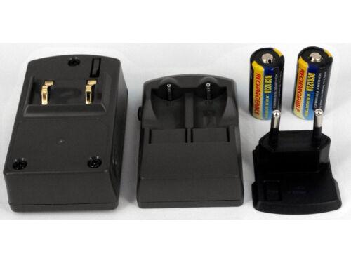 Ladegerã ¤ t f60d batería fã 1//4 R Nikon pronea 600i n90s cr123a dl123a