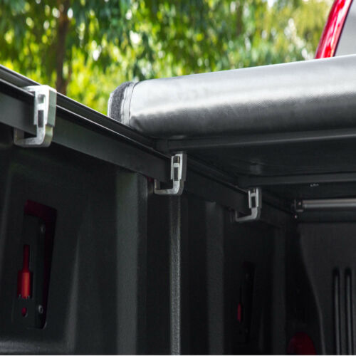JDMSPEED Roll Up Tonneau Cover For 2007-2013 Chevy Silverado GMC Sierra 5.8/' Bed