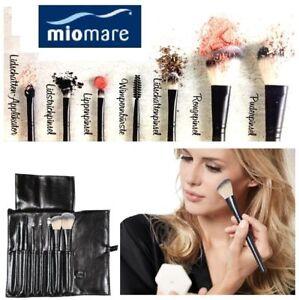 Miomare Profi Kosmetikpinsel Set Kosmetik Pinsel Schminke Tasche