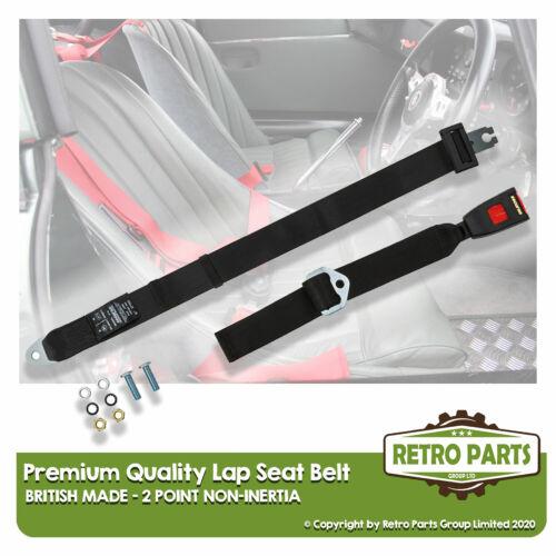 Ajustable 2 Punto Regazo Cinturón De Seguridad Para Suzuki Alto Correa de seguridad en Negro