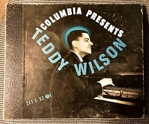 TEDDY-WILSON-and-his-PIANO-1942-Columbia-4-record-Set-C-93