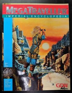 1x-MegaTraveller-Imperial-Encyclopedia-Used-Acceptable-RPG-Other