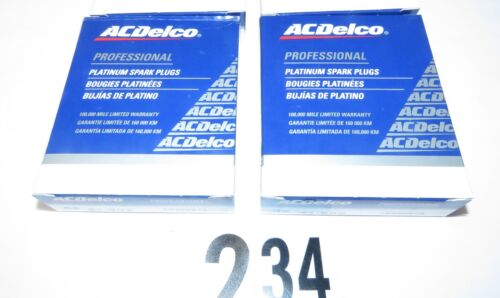 Pack of 8 8-Pack ACDelco 41-902 Professional Double Platinum Spark Plug