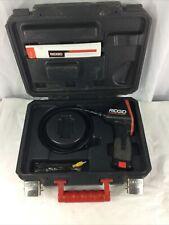 Ridgid Micro Ca 100 Hand Held Borescope Inspection Camera Scope