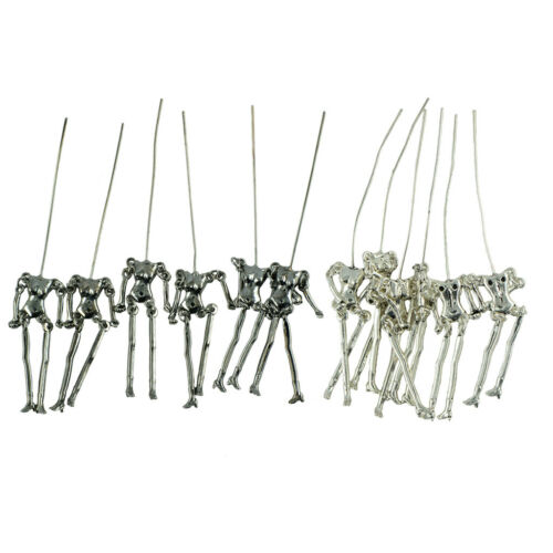 12pcs nouveauté poupées classiques squelette corps pendentif fabrication