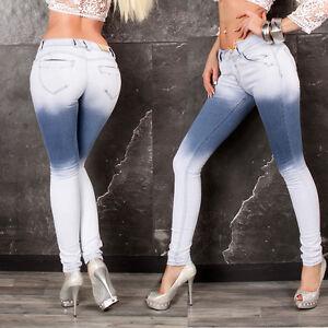 Damenjeans-Jeans-Hose-Damenhose-Roehrenjeans-Hueftjeans-Huefthose-blau-34-42-109