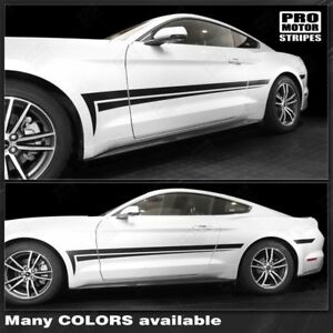 ford mustang 2015 2016 2017 side accent stripes decals choose color
