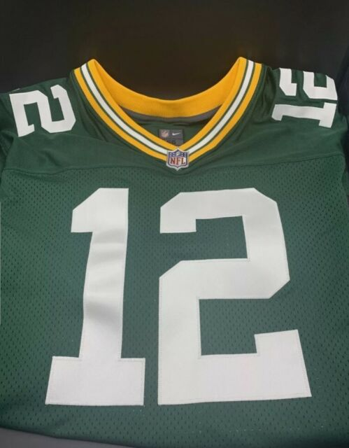 Aaron Rodgers Nike Elite Jersey Greenbay Packers Sewn Size 56 Cr2 505