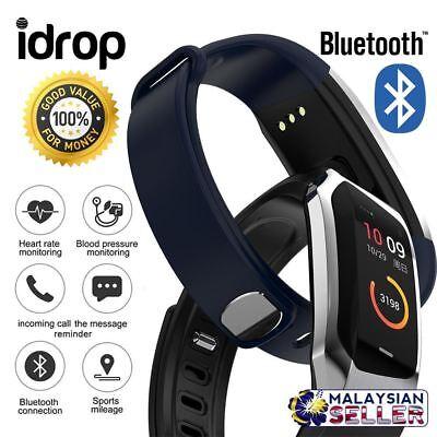 idrop E18 Sports Health Smart Watch - Bluetooth IP67 Waterproof Bracelet Band