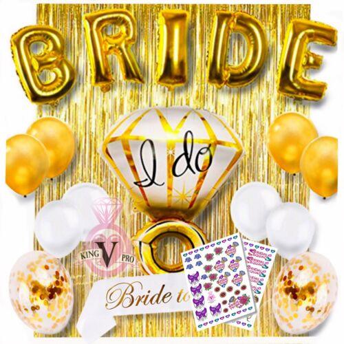 18 Piece Bachelorette Wedding Party Shower Decorations Plus Full Color Tattoos