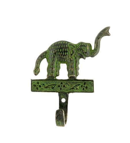 Porte Manteaux Patere Elephant Porte Bonheur Laiton