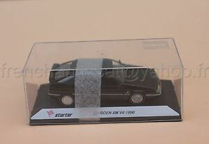 C075 Voiture Miniature 1/43 Citroen Xm V6 1990 Noir Collector Starter Heco