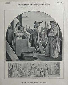 Bilderbogen-fuer-Schule-und-Haus-Biblische-Geschichte-Nr-51