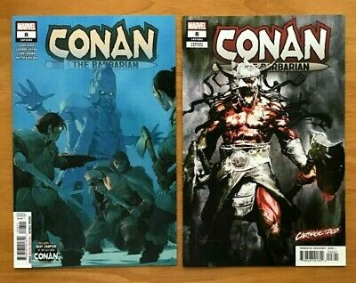 2019 Marvel CONAN THE BARBARIAN #8 SIENKIEWICZ CARNAGE-IZED VAR