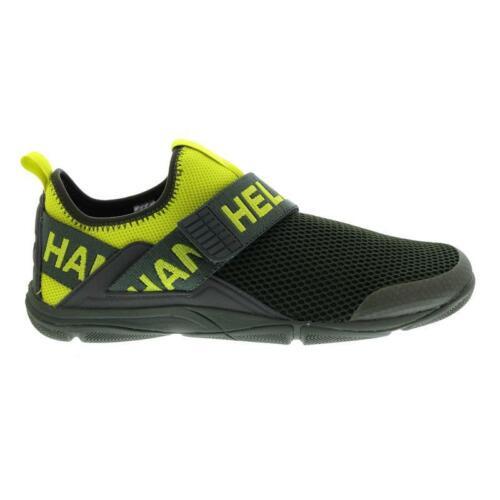 Helly Hansen Hydromoc Slip-On Shoe Beluga 11467-48 Sweet Lime Forest Night