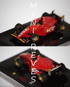 Hotwheels-Elite-F1-Ferrari-412-T2-J-Alesi-1995-1-43-T6286