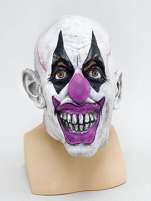 Scary Clown Mask Psycho Circus Batman Joker Halloween Fancy Dress