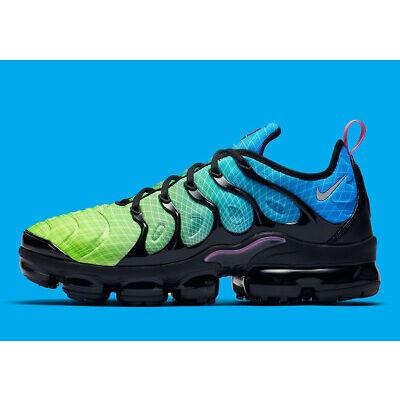 """Men's Nike Air Vapor Max Plus """"Aurora Green"""" Athletic Fashion Casual 924453 302"""