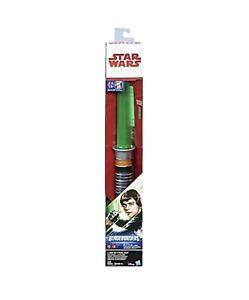 Star Wars Return Of The Jedi Luke Skywalker Electronic Lightsaber Toy 630509521999 Ebay