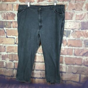 H-I-S-Mens-Jeans-Black-Size-50X30-Actual-48X29