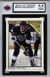 1990-91-OPC-Premier-38-Wayne-Gretzky-Graded-9-5-NMG-100519-34