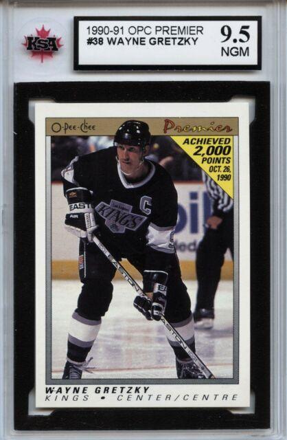 1990-91 OPC Premier #38 Wayne Gretzky Graded 9.5 NMG (100519-34)