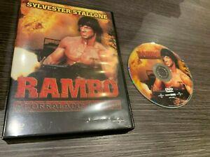 Rambo Cornered Part II DVD Sylvester Stallone
