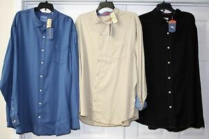 TOMMY-BAHAMA-BIG-amp-TALL-MEN-039-S-STILL-TWILLIN-039-SHIRT-SEVERAL-SIZES-MSRP-120-NWT