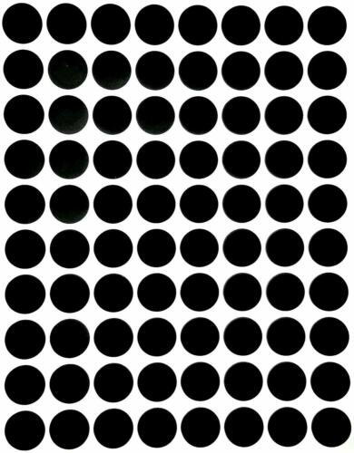 Dot Circle Stickers 13mm Colored Labels Permanent Adhesive Crafts Dots 400 Pack