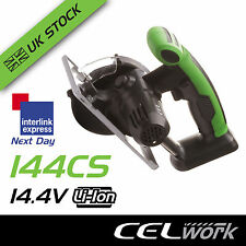 CEL 144CS 14.4V Li-Ion Lithium Cordless 110mm Circular Saw Tool - No Battery