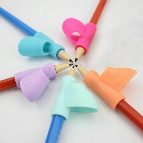 3st Kinder Griff Stifte Halter Schreiben Hilfe Griffe Haltungskorrektur Werkzeug