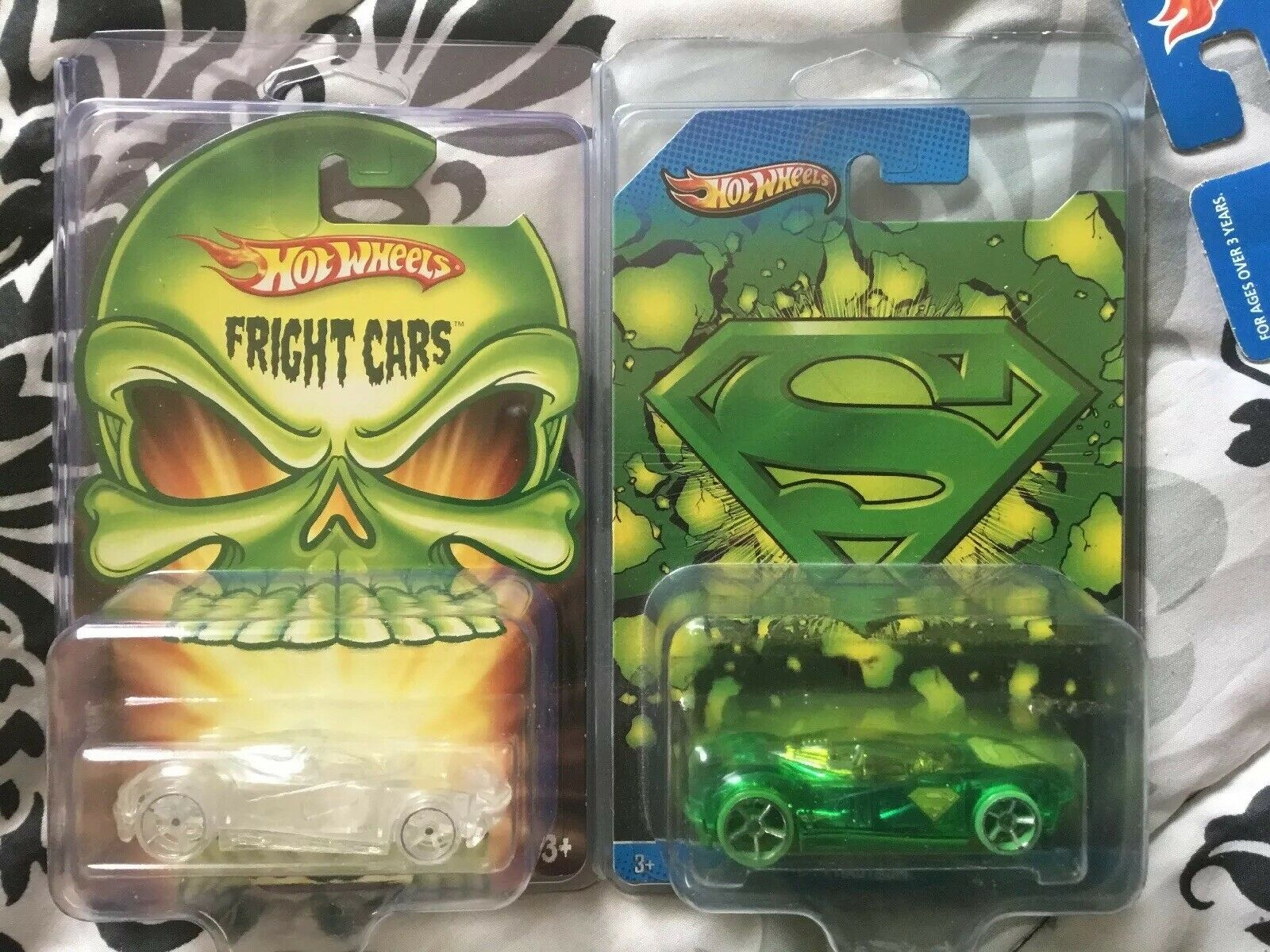Hot Wheels Kroger Exclusive  Phastasm  Variations Of The 2 Chase Cars  RARE