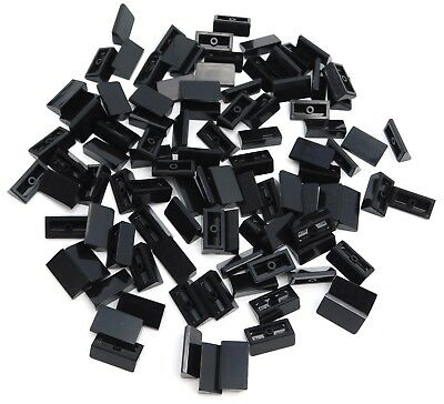 Lego Lot of 100 New Black Slope Sloped 30 1 x 2 x 2//3 Pieces Parts