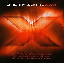 X 2012-Christian Rock Hits CD Switchfoot Skillet tobyMac Kutless Fireflight(NEW)