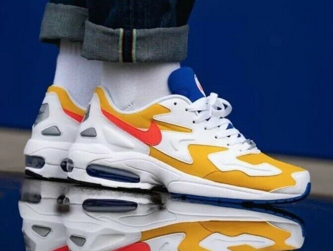 Nike Air Max 2 Light 'University Gold' AO1741-700 Größe UK 12 EU 47.5 US 13 New