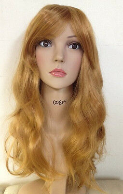 Lace Front Long Blonde Wig