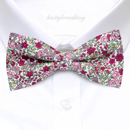 Brand New Multi-couleur de belles fleurs Smoking Fashion Floral homme nœud papillon B1448