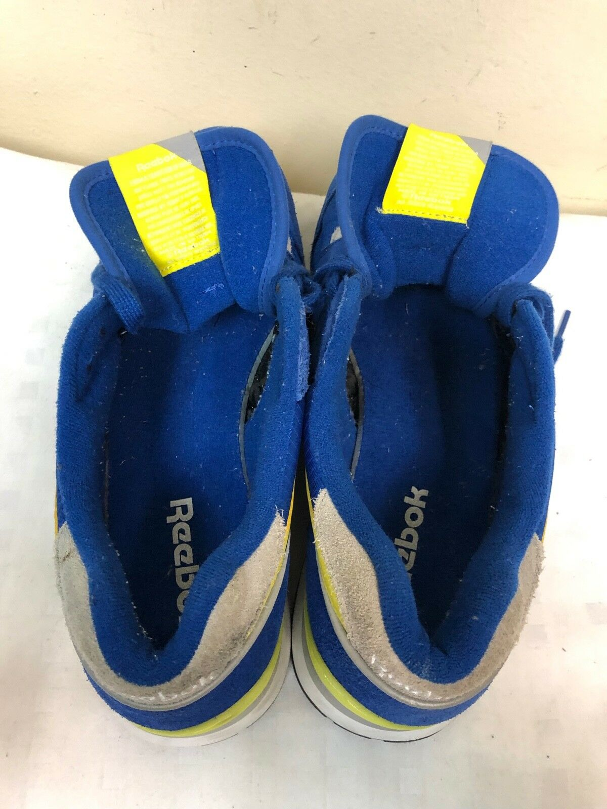 Reebok GL 6000 Men Blau Gelb Athletic Athletic Athletic Turnschuhe -SAMPLE- Größe 12 EUR 45.5 181aa4