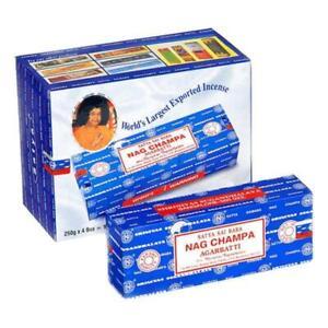 Satya Nag Champa Incense Sticks 1 Kilo Bulk Box 4x 250g Satya Sai Baba Ebay